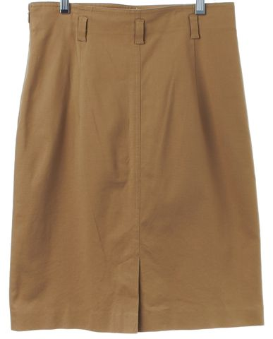 THEORY Brown Pencil Skirt