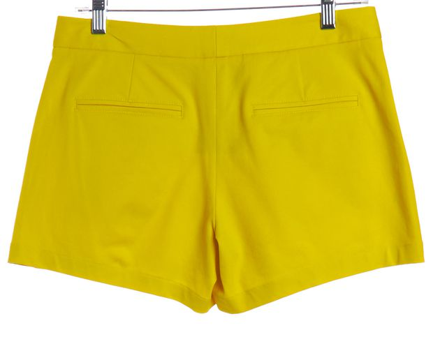 THEORY Yellow Cotton Casual Shorts