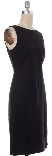 THEORY Black Sleeveless Sheath Dress