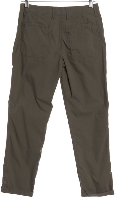 THEORY Green Casual Pants