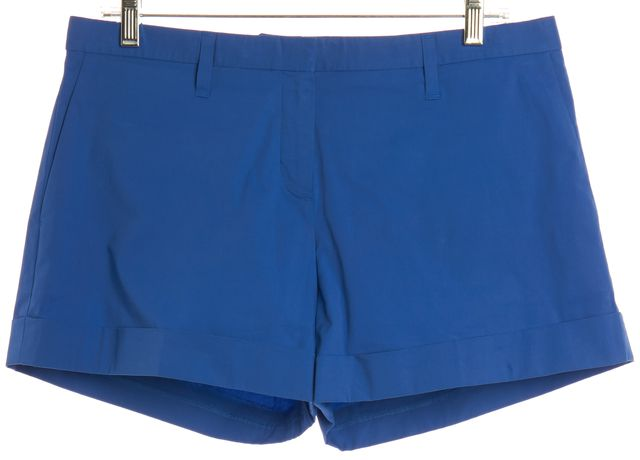 THEORY Blue Cotton Shorts