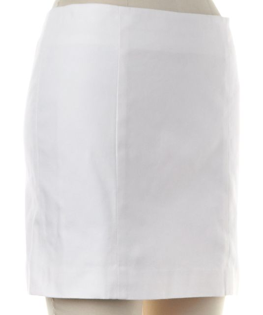 THEORY White Pencil Skirt