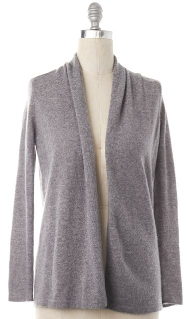 THEORY Gray Cashmere Cardigan