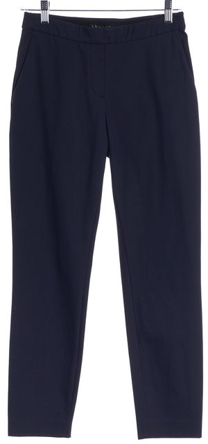 THEORY Navy Blue Legging Pants