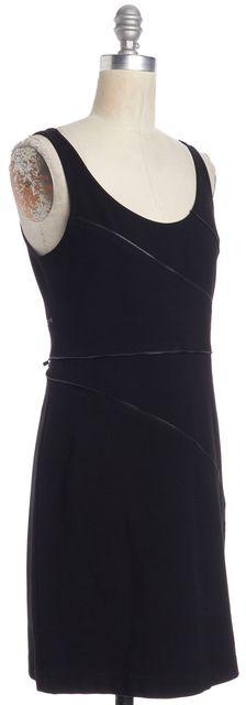THEORY Black Zipper Sheath Dress