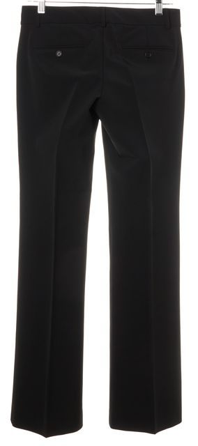 THEORY Black Classic Casual Relaxed fit Flare Dress Pants