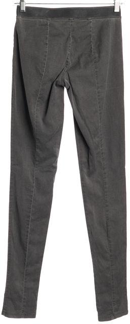 THEORY Gray Rabbira Casual Stretch Slim Fit Pants Leggings