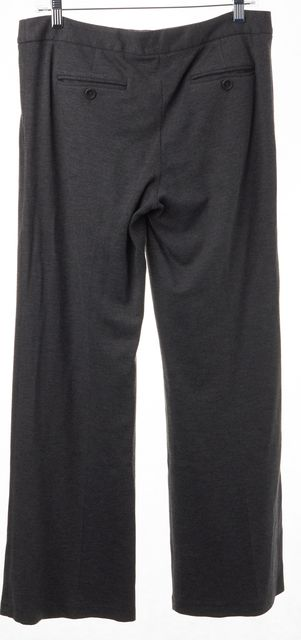 THEORY Gray Classic Casual Relaxed Fit Flare Leg Pants