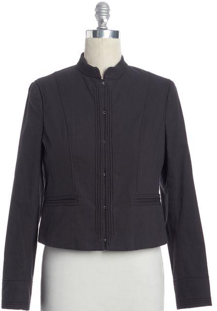 THEORY Black Zip Up Jacket