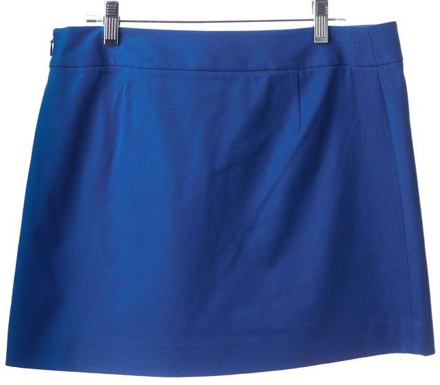 THEORY Royal Blue Mini Skirt