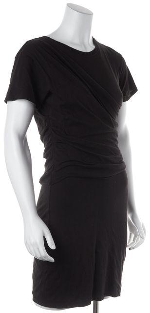 THEORY Black Sheath Dress
