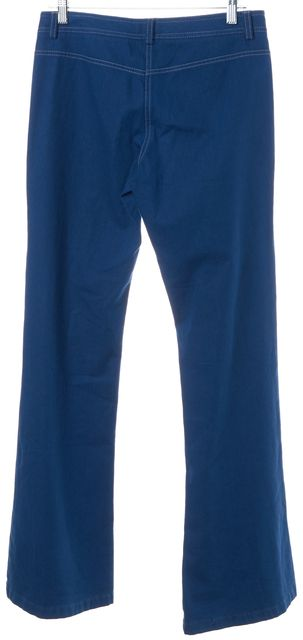 THEORY Blue Casual Flare Pants