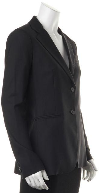 THEORY Black Wool Two Button Classic Blazer Jacket
