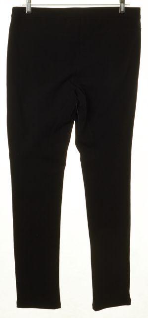THEORY Black Zip Pocket Detail Casual Pant Leggings
