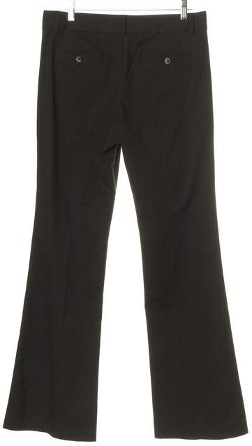 THEORY Black Max C Boot Cut Flare Leg Dress Pants