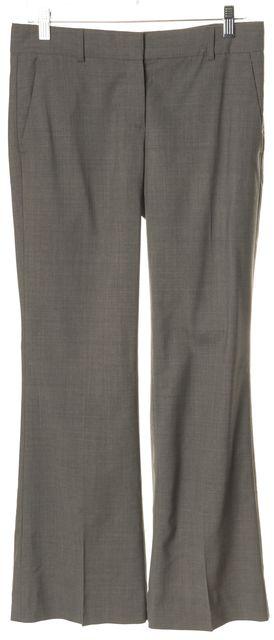 THEORY Gray Wool Casual Pants
