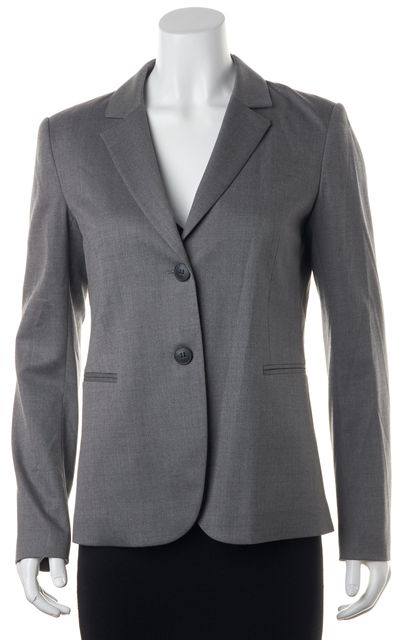 THEORY Gray Wool Blazer Jacket