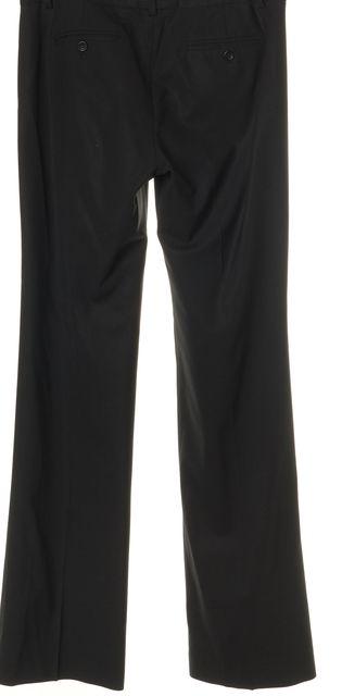 THEORY Black Stretch Wool Flared Leg Dress Pants