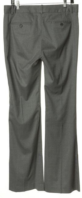 THEORY Gray Wool Twill Flared Leg Max C Trousers Dress Pants