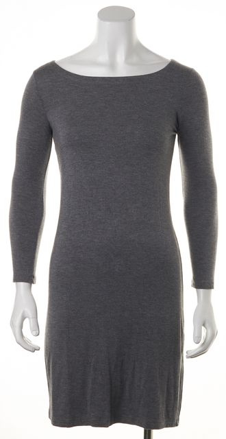 THEORY Gray Gila Sheath Dress
