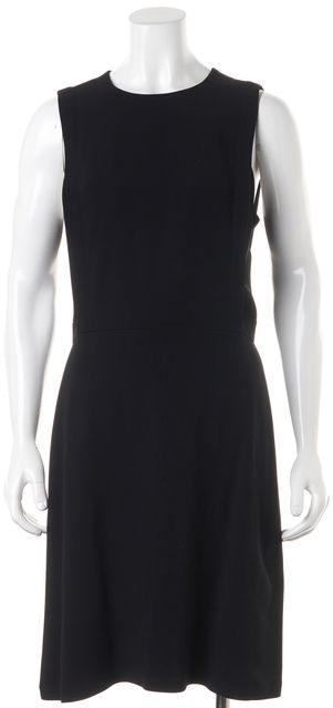 THEORY Black Rimlan Sleeveless Knee-Length Sheath Dress
