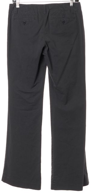 THEORY Gray Casual Four Pocket Trousers Pants