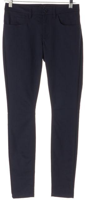 THEORY Blue Uniform Billy Aw Pavia Leggings Pants