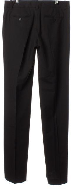 THEORY Black Tailor Wool Eden Flared Leg Dress Pants