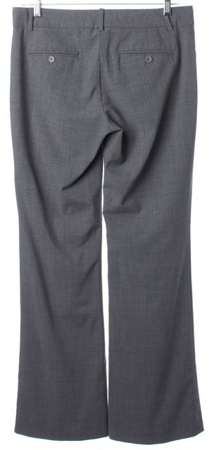 THEORY Heather Gray Wool Blend Dress Pants Pants