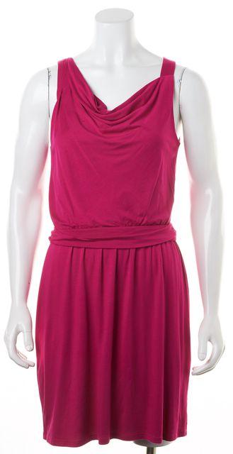 THEORY Magenta Pink Jaysa K Sulla Sleeveless Stretch Dress