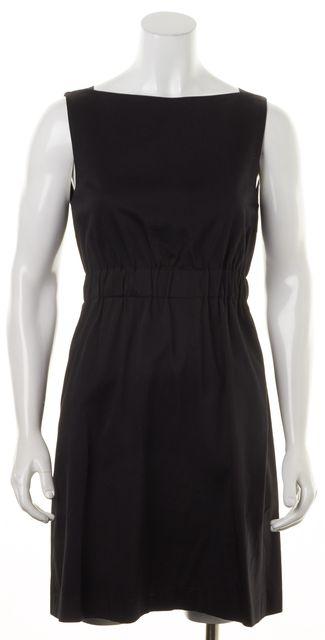 THEORY Black Elastic waist Sheath Dress