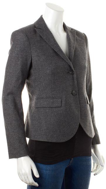 THEORY Gray Wool Edynas Two Button Blazer Jacket