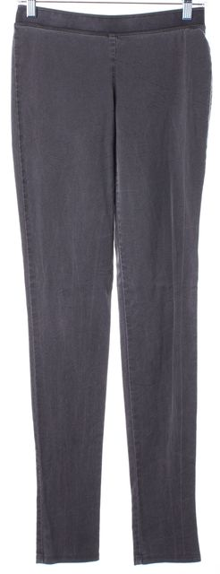 THEORY Gray Wool Leggings