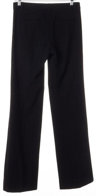 THEORY Black Wool Trouser Dress Pants