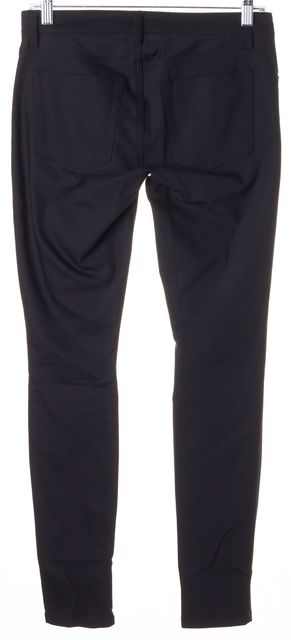 THEORY Black Billy Aw Skinny Casual Pants