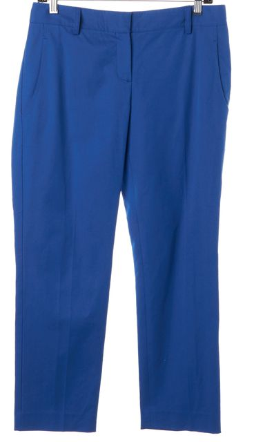 THEORY Primary Blue Yanette C Slim Trouser Dress Pants