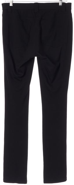 THEORY Black Elastic Waist Stretch Elly Rave Casual Pants
