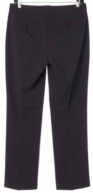 THEORY Gray Max 2 Urban Pleated Trouser Dress Pants