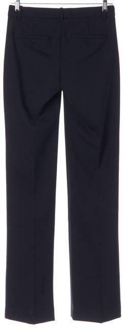 THEORY Uniform Navy Blue Emery 2 Trouser Dress Pants