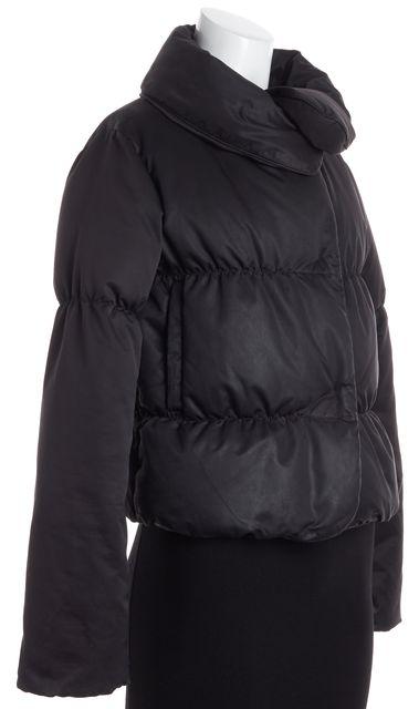 THEORY Black Puffer Coat