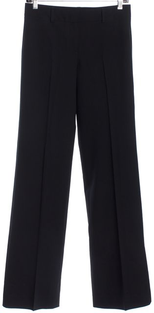 THEORY Black Wool Trousers Pants