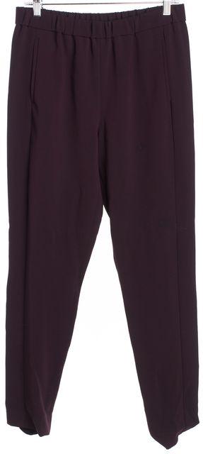 THEORY Dark Purple Casual Pants