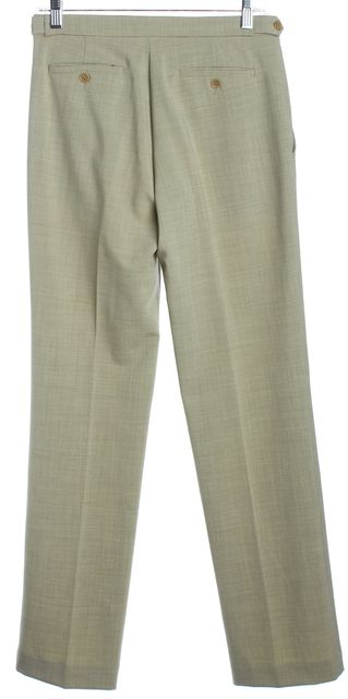 THEORY Yellow-Gray Dress Slim-Straight Pants