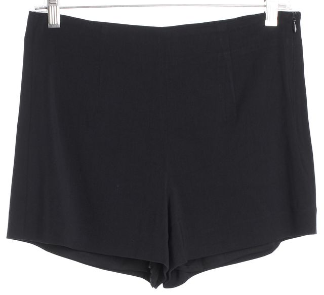 THEORY Navy Blue Wool Casual Shorts