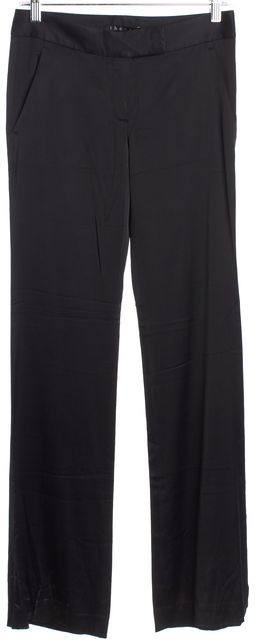 THEORY Black Flare Casual Pants