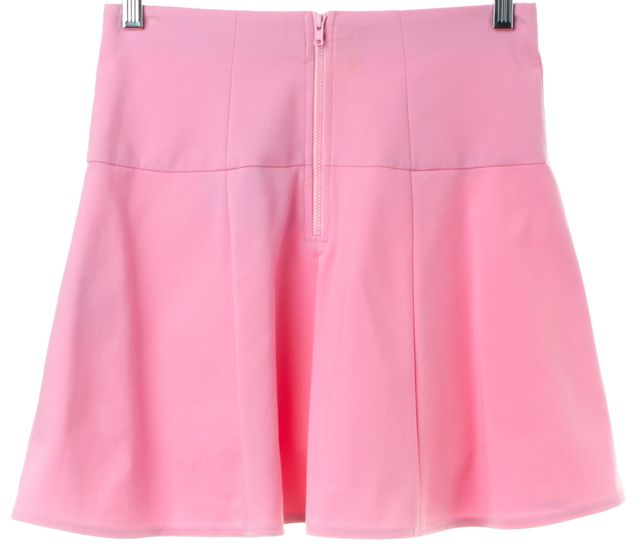 TIBI Pink Pleated Skirt
