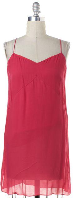 TIBI Pink Slip Dress