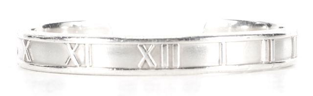 TIFFANY & CO. 925 Silver Atlas Cuff Fashion Bracelet