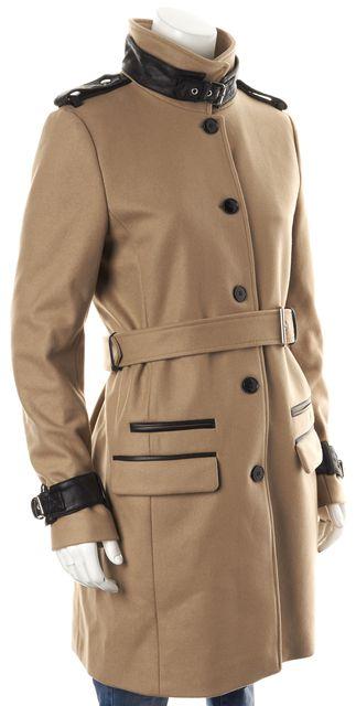 THE KOOPLES Brown Wool Military Coat