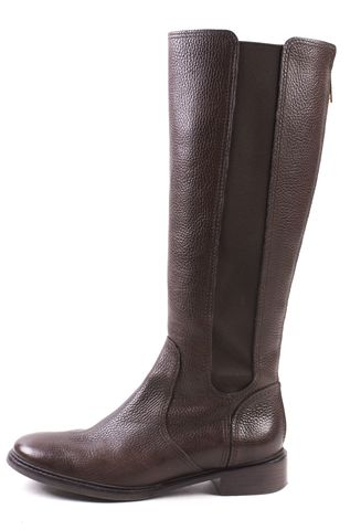 TORY BURCH Brown Leather Knee High Boots Size 8